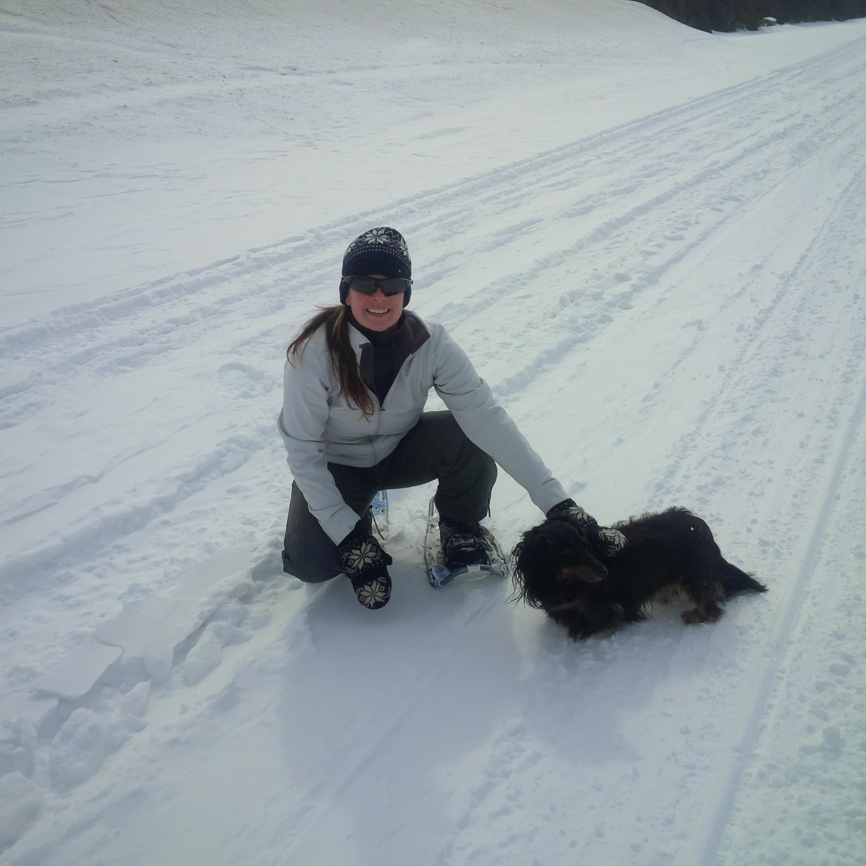 Lake Temagami, Ontario - Snowshoeing
